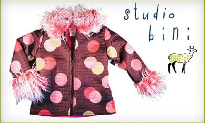 Studio Bini - Berkeley: $20 for $40 Worth of Kids' Clothing, Accessories & More at Studio Bini