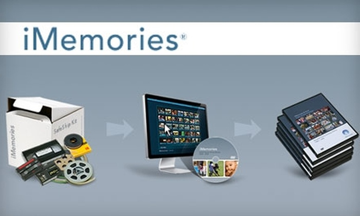 iMemories: $15 for Two Home Movies Transferred to DVD from iMemories ($50 Value)
