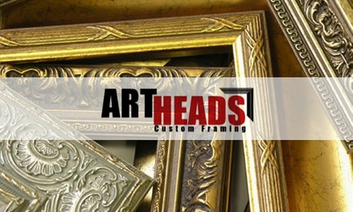Art Heads Custom Framing - Multiple Locations: $45 for $110 Worth of Framing Services at Art Heads Custom Framing