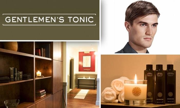 Gentlemen's Tonic - Houston: Gentlemen's Tonic Luxury Haircut Package (Normally $85)