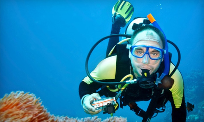 H2O Dive Center - North Miami: Discovery Scuba One-Day Experience or Open-Water Diver-Certification Course from H2O Dive Center (Up to 66% Off)