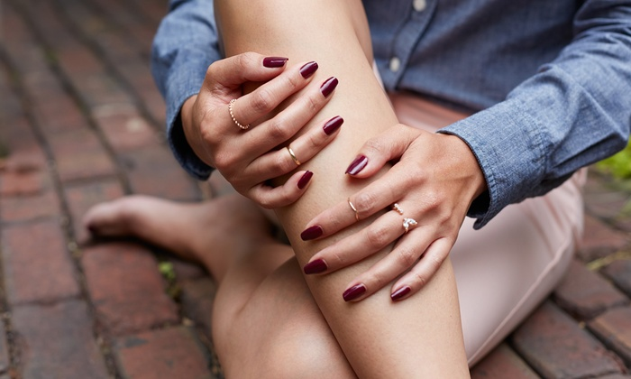 Thomas & Company Hair Salon - Greenville: Mani-Pedis at Thomas & Company Hair Salon (Up to 51% Off). Four Options Available.