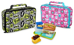 insulated lunch kit ice packs groupon goods. Black Bedroom Furniture Sets. Home Design Ideas