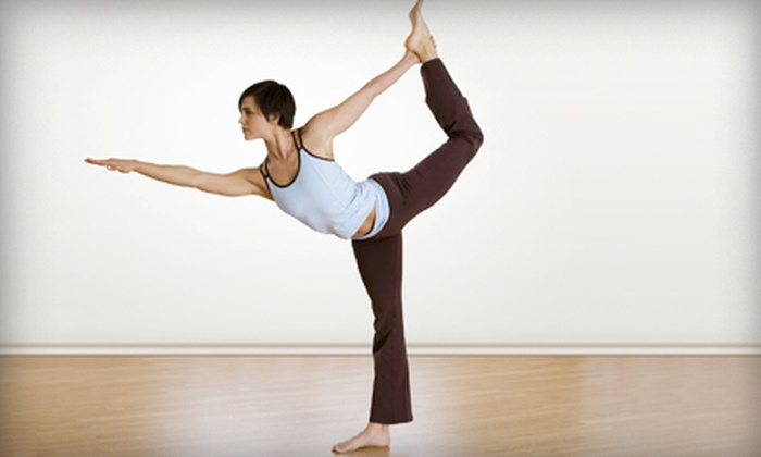 Inverted Elephant - Riverview: 10 Drop-In Classes or a Month of Unlimited Classes at Bikram Yoga SpaceCoast (67% Off)