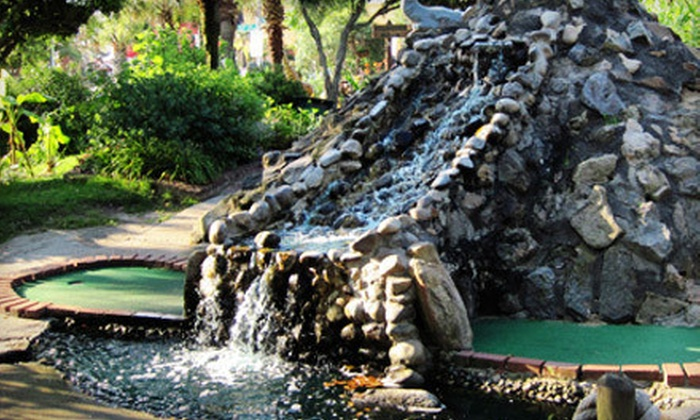 Jungle Golf - Northeast Virginia Beach: All-Day Mini Golf for Two or Four with Popcorn, or Season Pass for Two at Jungle Golf (Up to 62% Off)