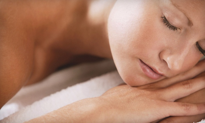 Nail and Skin Day Spa - Stonecrest Retail: Custom- or Swedish-Massage Package with Facial and Mani-Pedi at Nail and Skin Day Spa (Half Off)