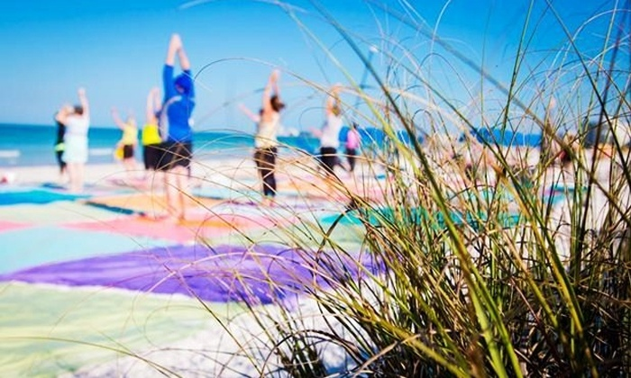Under the Sun Fitness - Jacksonville Beach: 10 Beach Fitness Classes or 8 Small Group Personal-Training Sessions at Under the Sun Fitness (Up to 51% Off)