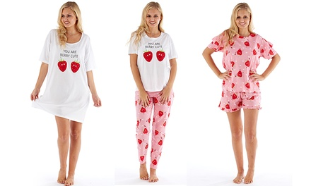Women's Berry Cute Pyjamas Set