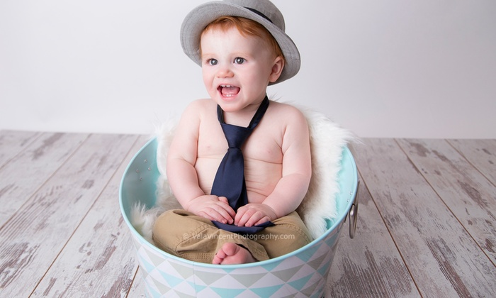 Vala Vincent Photography - Golden: 45-Minute Studio Photo Shoot with Digital Images from Vala Vincent Photography (49% Off)