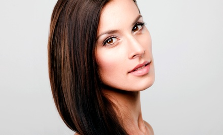 Shampoo and Blowdry or Brazilian Blowout Smoothing Treatment at From Head 2 Toez Salon (Up to 67% Off )