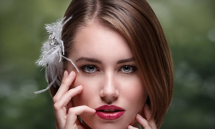 Center Street Salon and Spa - Kyle: $125 for a Brazilian Blowout and Haircut at Synergy Salon & Spa in Kyle ($328 Value)