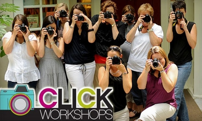 Click Workshops - East Vincent: $120 for Introduction to Digital Photography Class from Click Workshops in Spring City ($245 Value)