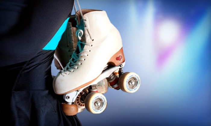 Slapshots Family Skate Center - Chasewood: Roller-Skating Package for Two, Four, or Party of Nine at Slapshots Family Skate Center in Cumming (Up to 65% Off)