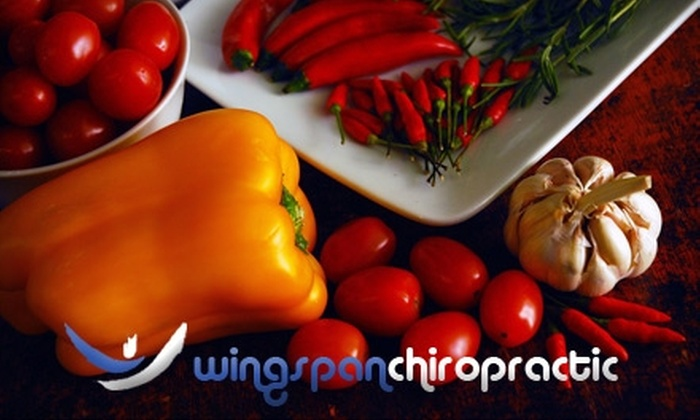 Wingspan Chiropractic - River Park: $99 for a 40-Day HCG Diet at Wingspan Chiropractic ($220 Value)