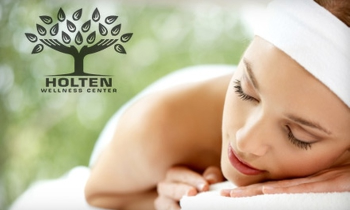 Holten Wellness Center - Washington: $15 for 30-Minute Aqua Massage ($30 Value) or $30 for Waxing Services (Up to $65 Value), or $30 for Ionic Foot Detox ($75 Value) at Holten Wellness Center