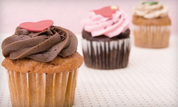 Bellatorianna Gourmet Cupcakery - Kenwood Park: One or Two Dozen Cupcakes at Bellatorianna Gourmet Cupcakery in Marion (Half Off)