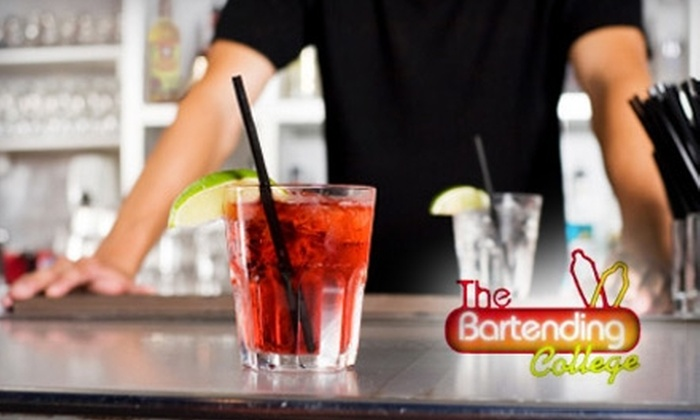 Bartending College Online: $35 for an Online Bartending Class, Course Materials, and Certification at Bartending College Online ($75 Value)
