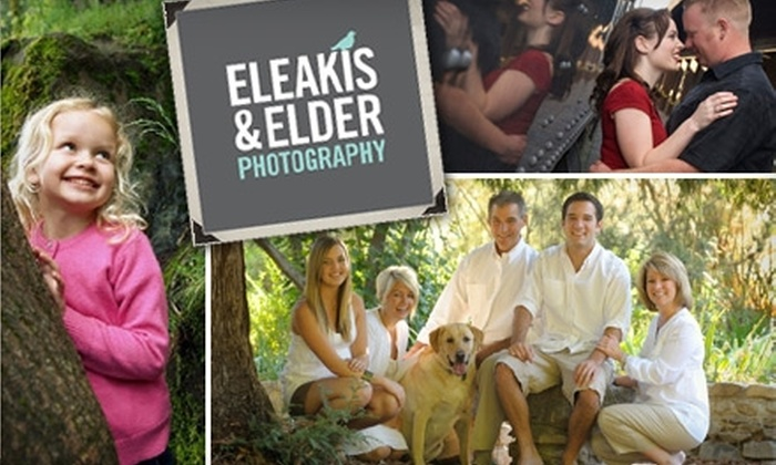 Eleakis & Elder Photography - Hollywood Park: $65 for an In-Studio or On-Location Photo Session, Prints, and High-Res Digital Files from Eleakis & Elder Photography (Up to $354 Value)