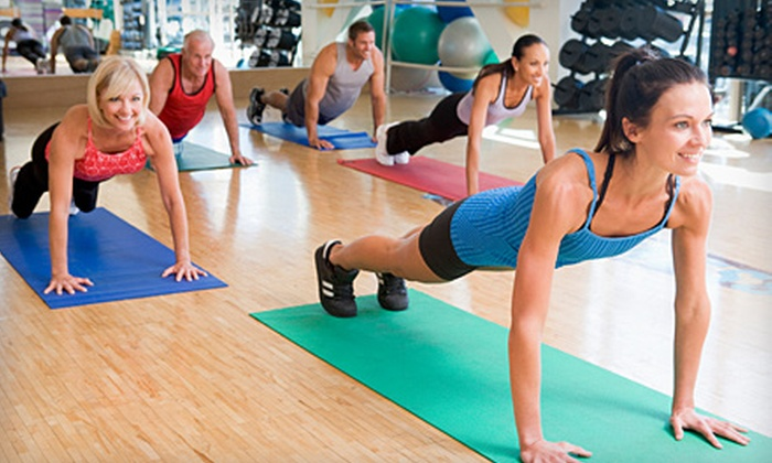 Qi Athletic Clubs - Multiple Locations: 10 Classes or One-Month Membership at Qi Athletic Club (Up to 70% Off). Five Locations Available.
