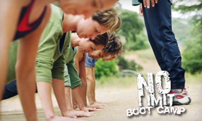 No Limit Boot Camp - Multiple Locations: $30 for a One-Month Unlimited Membership at No Limit Boot Camp in Anaheim ($199 Value)
