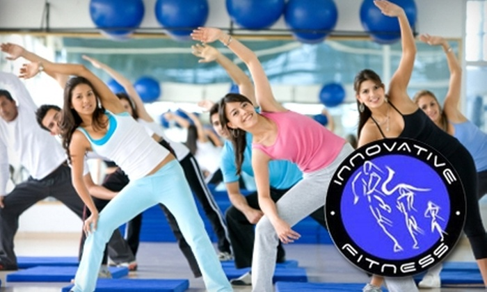 Innovative Fitness - Multiple Locations: $39 for One Month of Unlimited Boot-Camp Classes at Innovative Fitness in Cypress and Stafford ($199 Value)