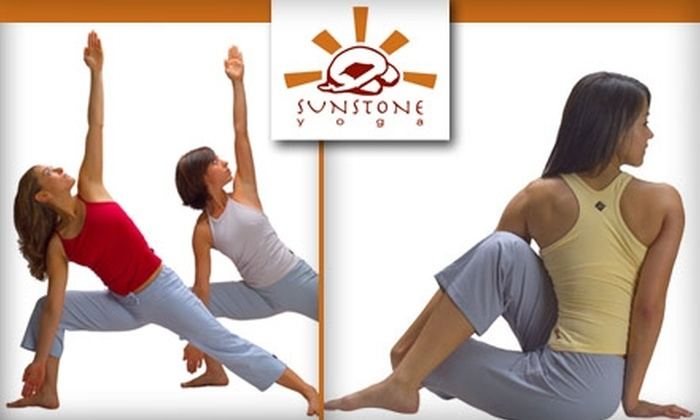 Sunstone Yoga Austin - Austin: $38 for 10 Days Unlimited Yoga Plus Four-Class Package at Sunstone Yoga (Up to $82 Value)
