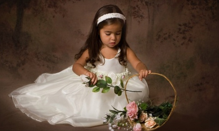 """Judi Brown Photography - Forests Oaks: $59 for a 30-Minute Studio Photo Shoot for Up to Five People with 8""""x10"""" Print at Judi Brown Photography ($325 Value)"""