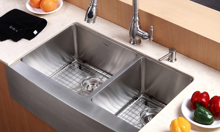 Sink Styles For Country Kitchen : Kraus Country-Style Kitchen Sinks: Kraus Country-Style Kitchen Sinks