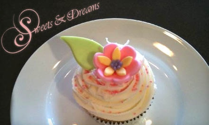 Sweets & Dreams - Toronto (GTA): $8 for Six Gourmet Cupcakes from Sweets & Dreams in Whitby