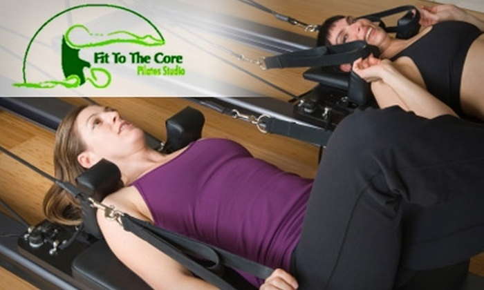 Fit to the Core Pilates - North Potomac: $40 for a One-on-One Pilates Equipment Session with Instructor at Fit to the Core Pilates