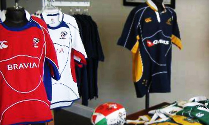 Cambria Sports - Charleston: $15 for $30 Worth of Rugby and Soccer Apparel and Gear at Cambria Sports