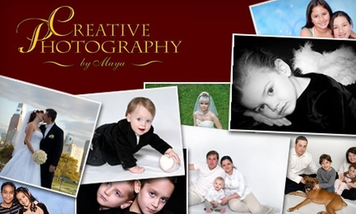 Creative Photography By Maya - Lower Southampton: $50 for a Half-Hour Photo Session and DVD of Images from Creative Photography by Maya
