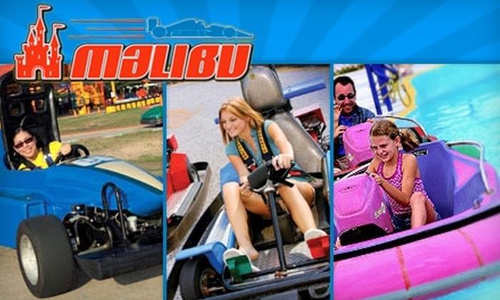 Malibu Grand Prix - Norcross: $10 for One Day of Unlimited Go-Karts, Bumper Boats, and Miniature Golf at Malibu Grand Prix