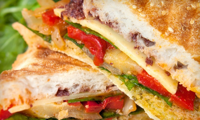 Sugar Mountain Bake Shoppe - East Avenue: $9 for $20 Worth of  Paninis, Salads, or Starters at Sugar Mountain Bake Shoppe