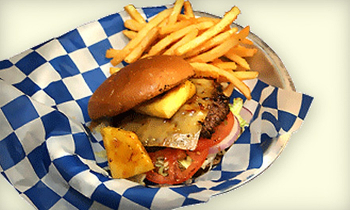 Malibu Shack - Thunderbird Hills: Dinner for Two or $10 for $20 Worth of California-Style Burgers and Sandwiches at Malibu Shack