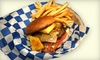 Malibu Burger Shack - Thunderbird Hills: Dinner for Two or $10 for $20 Worth of California-Style Burgers and Sandwiches at Malibu Shack