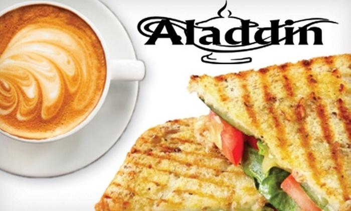 Aladdin Restaurant & Cafe - Orono: $5 for $10 Worth of Mediterranean Eats at Aladdin Restaurant & Cafe