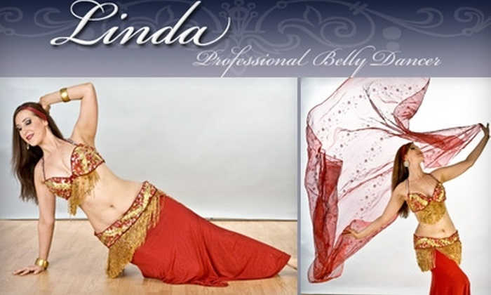Linda: Professional Belly Dancer - Multiple Locations: $15 for Three Belly-Dance Classes from Linda: Professional Belly Dancer
