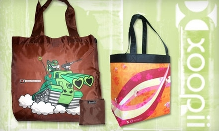 Xoopii: $10 for $25 Worth of Eco-Friendly Reusable Bags and More from Xoopii