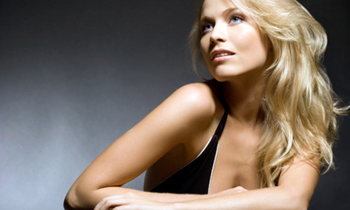 Hollywood Blonde Salon - Saint Charles: $49 for a Haircut and Style, Highlights, and an Eyebrow Wax at Hollywood Blonde Salon in St. Charles ($106 Value)