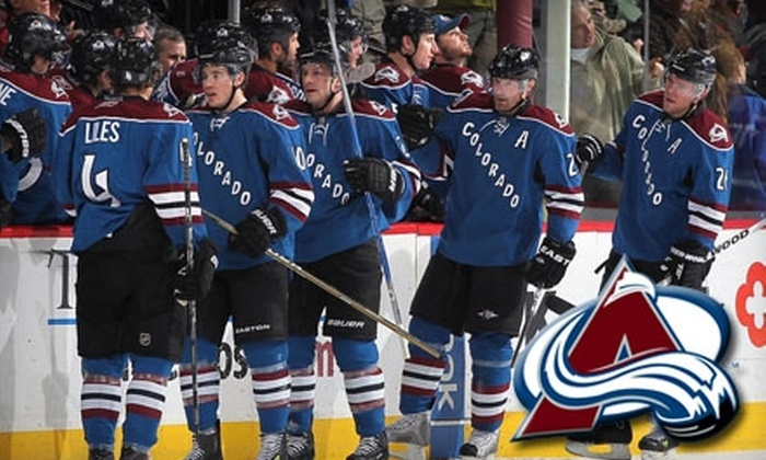 Colorado Avalanche - Auraria: One Ticket to Colorado Avalanche Game on February 23, Plus a T-Shirt. Choose Between Two Seating Options.