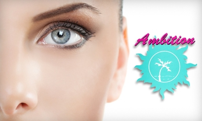 Ambition Salon - 3: $36 for Mani-Pedi and Eyebrow Wax at Ambition Salon in Pasadena ($72 Value)