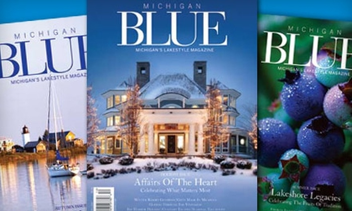 """Michigan BLUE: $12 for Two-Year Subscription to """"Michigan Blue"""" ($24 Value)"""