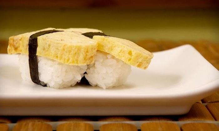 Rain Sushi - Seattle: $25 for $50 Worth of Modern Japanese Cuisine at Rain Sushi