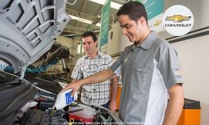 Sobre a Chevrolet: Chevrolet– 4 endereços: alinhamento, balanceamento, troca de óleo, check-up de 30 itens e mais