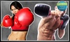 iLoveKickboxing.com (Corporate Account) - Multiple Locations: 4 or 10 Kickboxing Classes with 40-Minute Personal-Training Session and Pair of Boxing Gloves at iLoveKickboxing.com