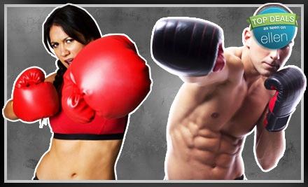 4-Class Kickboxing Package ($105 total value) - iLoveKickboxing.com in Washington D.C.