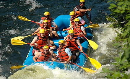 Whitewater Rafting Trip - Whitewater Challengers in North River