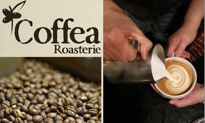 Coffea Roasterie - Sioux Falls: $10 for One Coffee Class, a Coffee Beverage, and a Half-Pound Bag of Coffee at Coffea Roasterie