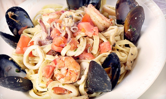 Villa Romano - Napa: $27 for an Italian Meal for Two at Villa Romano (Up to $54.50 Value)